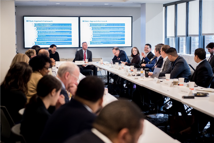 The Center Hosts Executive Roundtable on Opportunity Zones