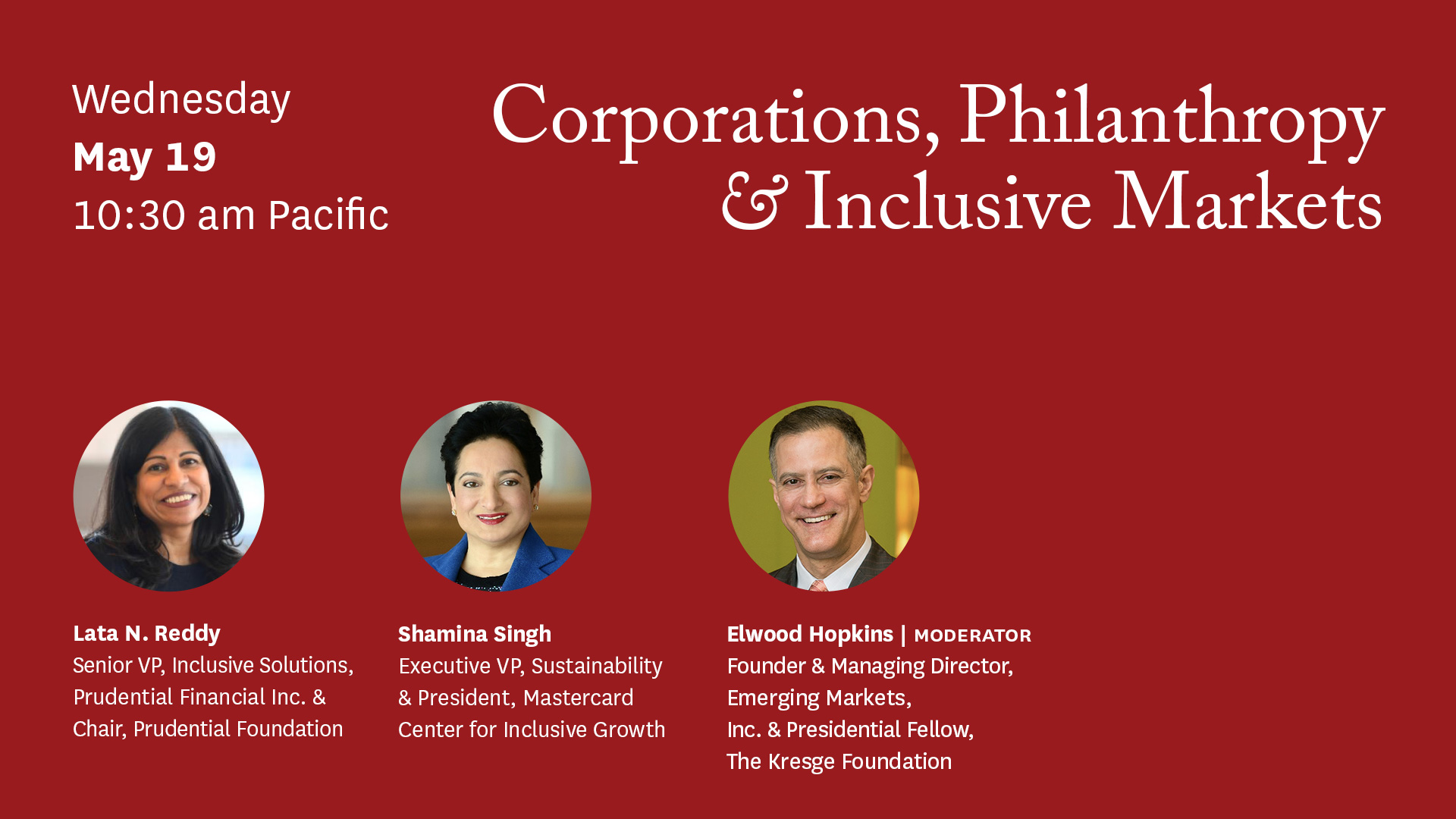 Corporations, Philanthropy & Inclusive Marketsa